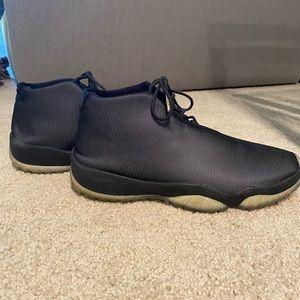 Nike Jordan Future Black Ice Size 10